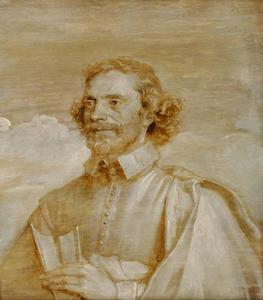 Portret van Franciscus Junius (François du Jon) (1591-1677)