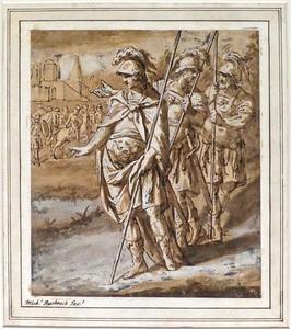 Drie Romeinse soldaten