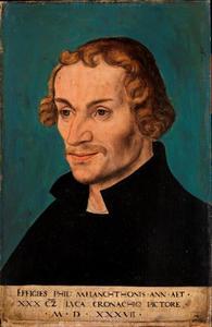 Portret van Philipp Melanchthon