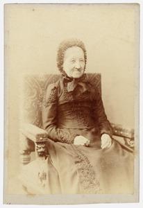Portret van Josina Adelaide Antoinette van Rappard (1800-1894)