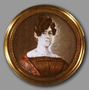 Portret van Maria Everharda Groen ( -1870)