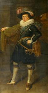 Portret van Hendrick Jansz. Nobel (....-1626)