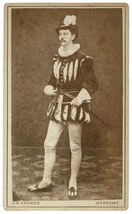 Portret van Herman Johan van Lulofs Umbgrove (1862-1949) als Pierre Tseraerts