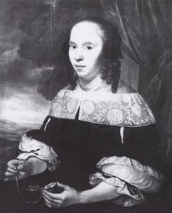 Portret van Lucretia van Hardenberg (1647-1672)