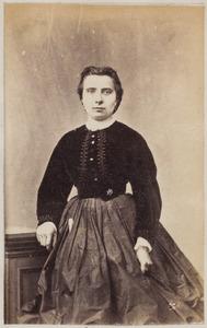 Portret van een vrouw uit familie Schüssler
