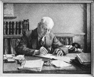 Portret van Christiaan Frederik Klaar (1870-1950)