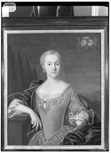 Portret van Ida Francisca Maria Hyacintha Catharina Barbara van Scherpenzeel ( -1791)