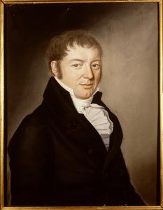 Portret van Abraham Johan van der Hoop (1775-1826)