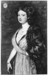 Portret van Renee Jenny Josephine Dirckink af Holmfeld (1890-1973)