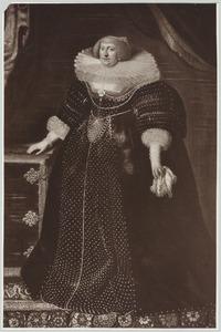 Portret van Sophia Hedwig van Brunswijk -Wolfenbuttel (1592-1642)