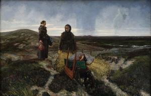 Vrouwen op de heide