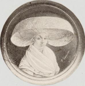 Portret van Sytske van Sloterdijck (1766-1840)