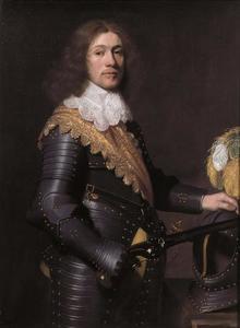 Portret van een man, waarschijnlijk Christiaan van Nassau-Siegen (1616-1644)