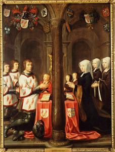 Memorietafel van Jan van Berendrecht (....-....), Aecht Claesdr en hun kinderen
