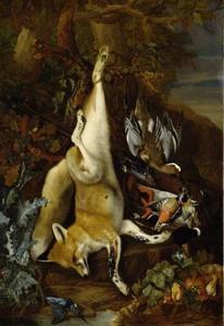 Jachttrofee met vos