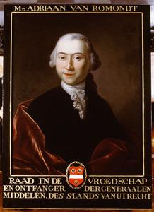 Portret van Adriaan van Romondt (1738-1818)