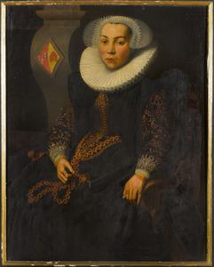 Portret van Elisabeth van Montfoort (1575-1634)