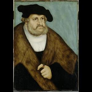 Portret van Friedrich (III) der Weise, Keurvorst von Saksen (1463-1525)