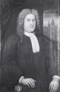 Portret van Otto van Wijhe (1638-1732)