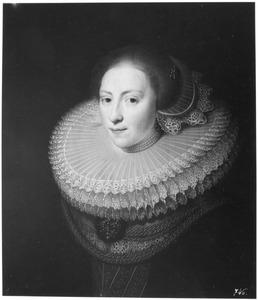 Portret van een vrouw genaamd Maria Gijsbertsdr. Briell (1607-1666)