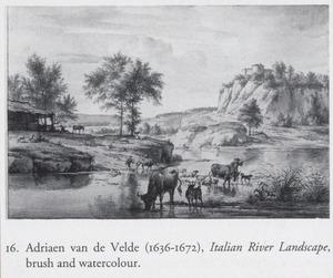 Zuidelijk rivierlandschap