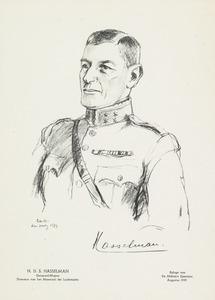 Portret van Hendrik Dirk Stephaan Hasselman (1880-1943)