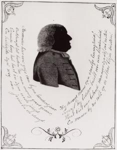 Portret van Maas Jansen van den Hull (1713 -1802)