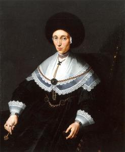 Portret van Maria Salome von Stalburg (1602-1646)