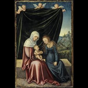 De Heilige Anna te Drieën