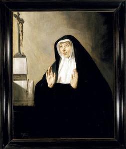 Portret van de begijn Isabella van Hoey