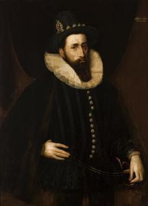 Portret van Johann Wilhelm, hertog van Jülich-Kleve-Berg (1562-1609)