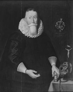 Portret van Gerrit Wystma (1578-1652)
