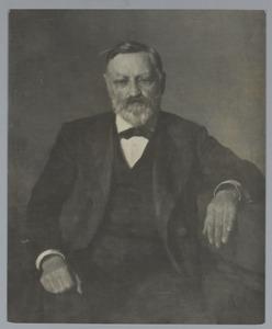 Portret van dr. A. Plate