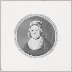 Portret van Agatha (Aagje) Deken (1741-1804)