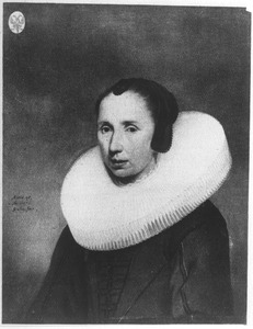 Portret van Emerentia van Driel (1598-1660)