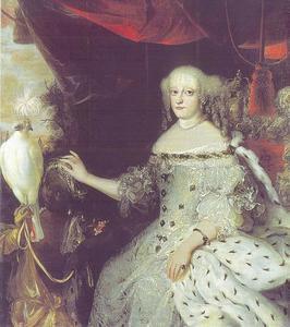 Portret van Sophia Amalia van Brunswijk-Lüneburg (1628-1685)