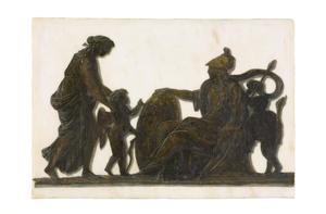 Cupido wordt voorgesteld aan Minerva