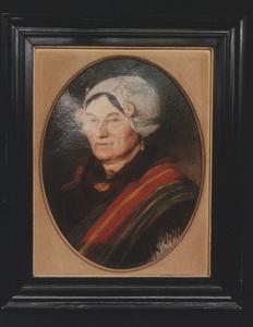 Portret van Ida Fieret