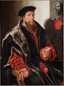 Portret van Andries Willemsz. van Sonnevelt, genaamd van Oudshoorn