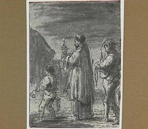 Begrafenis (Lazarillo de Tormes dl. 1, cap. 6, p. 19)