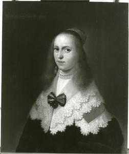 Portret van Clara Joachimsdr. van Andrée (?-1697)