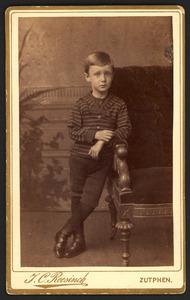 Portret van A. Crommelin