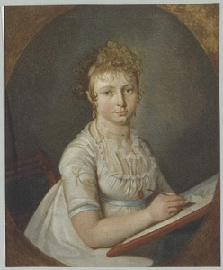 Portret van Wilhelmina Gunning (1791-1865)