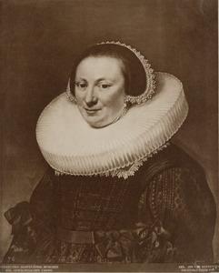 Portret van Maria van Reijgersbergen (1586-1653), echtgenote van Hugo Grotius