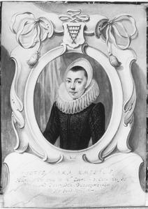 Portret van Sara Aemilius (1594-1666)