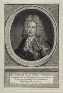 Portret van Bruno van der Dussen (1660-1741)