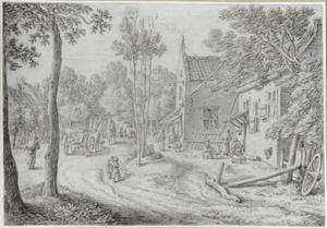 Gezicht in het dorp De Bilt