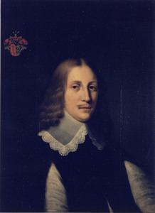 Portret van man uit de familie Lycklama