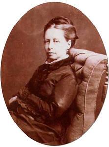 Portret van Maria Vos (1824-1906)