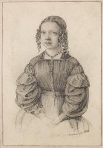 Portret van een meisje, waarschijnlijk Elisabeth Catharina Broers (1830-1906)